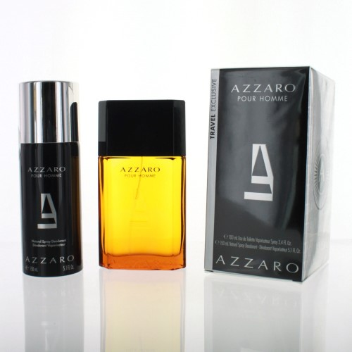Details about Azzaro 2 Piece Gift Set with 3.4 Oz by Azzaro NEW For Men 14ee6b41535