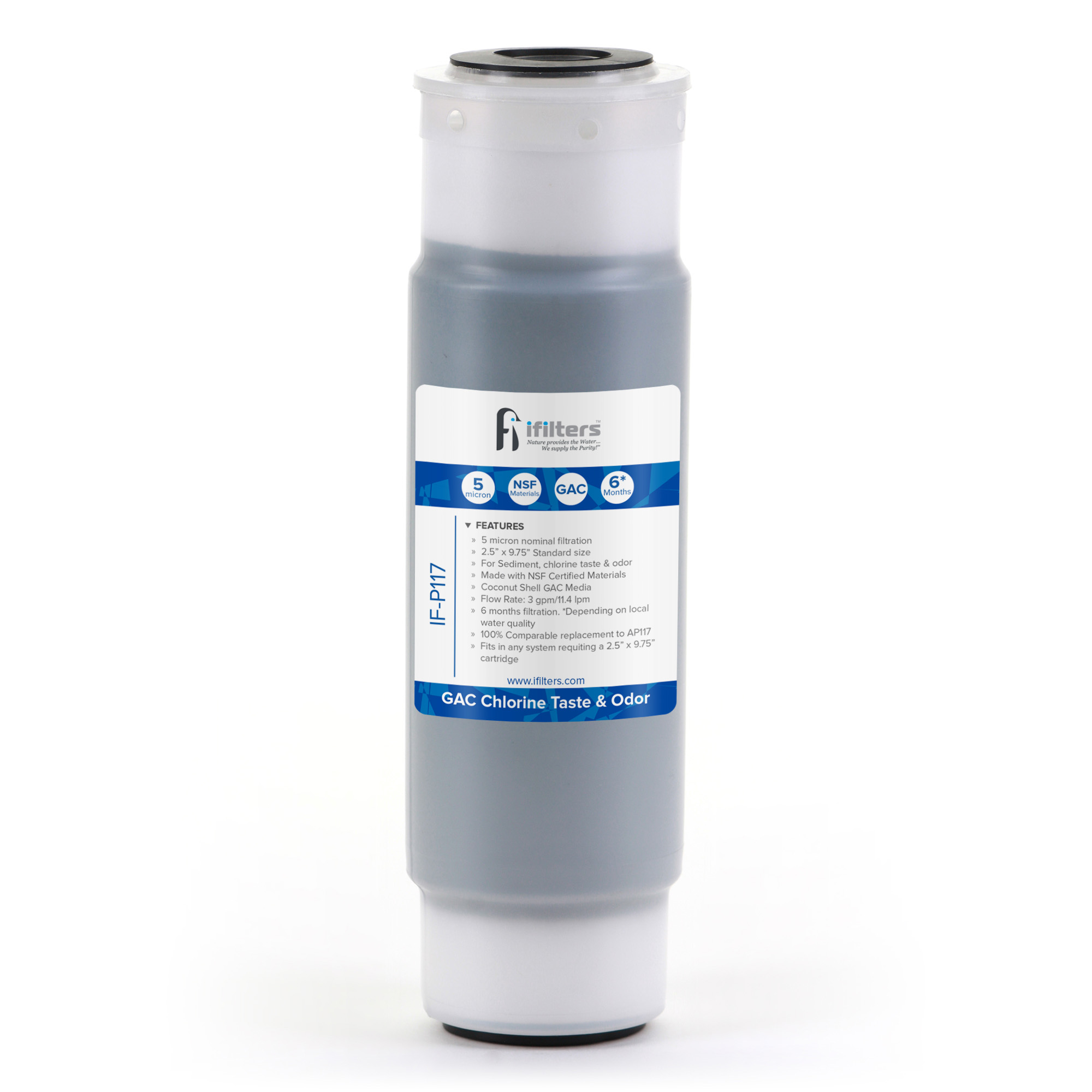 6X Granular Activated Carbon Filter for Aqua-Pure AP11T