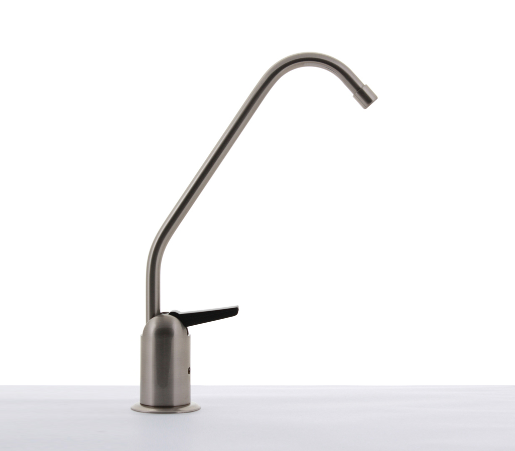 Hydronix Long Reach RO Filtered Water Faucet Lead Free Brushed ...