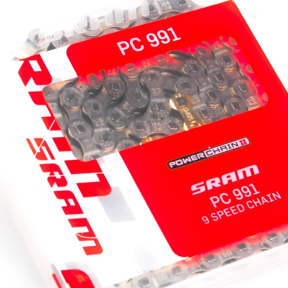 New SRAM PC-991 9 Speed Chain Road Mountain Mtb Bike 9s