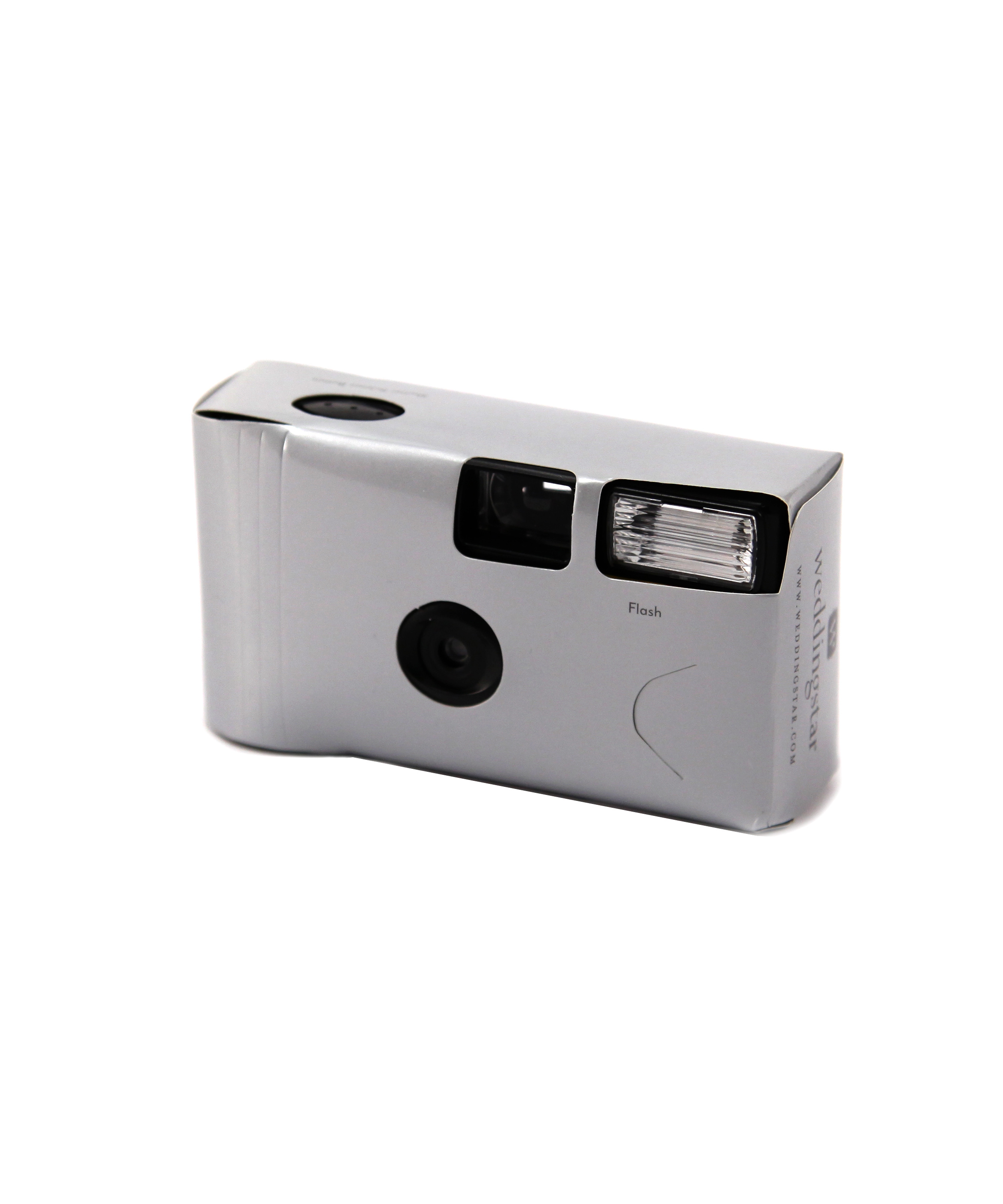 Disposable Camera with Flash Pack of 10 Silver Wedding Favours ...