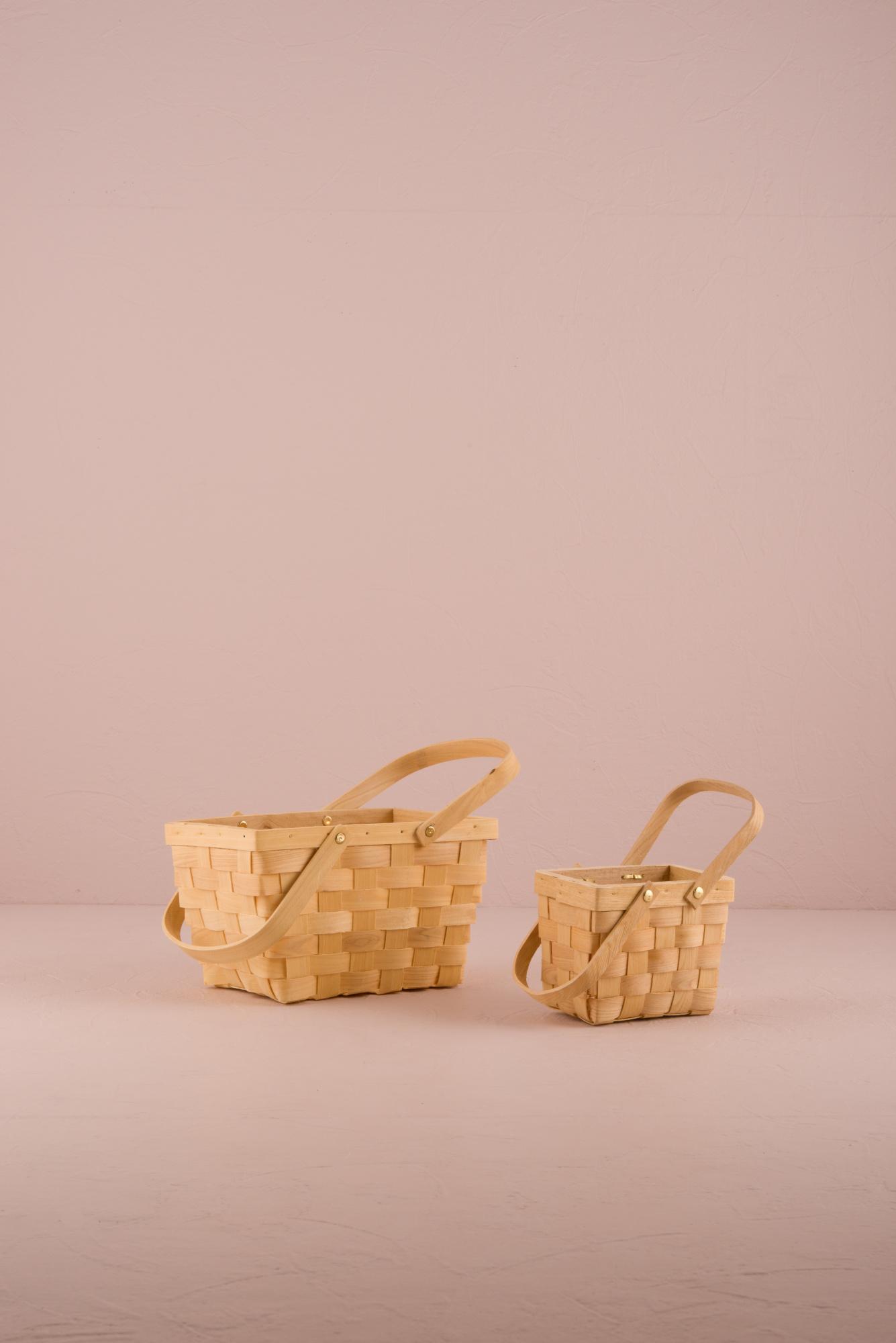 Large Picnic Basket Decor Party Favour Woven Vintage Design 68180033133 Ebay