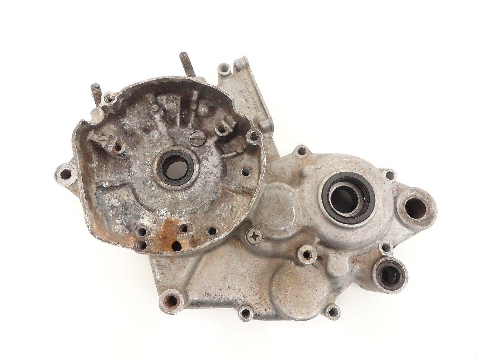 92 97 SUZUKI RM 125 used Left Engine Case Motor