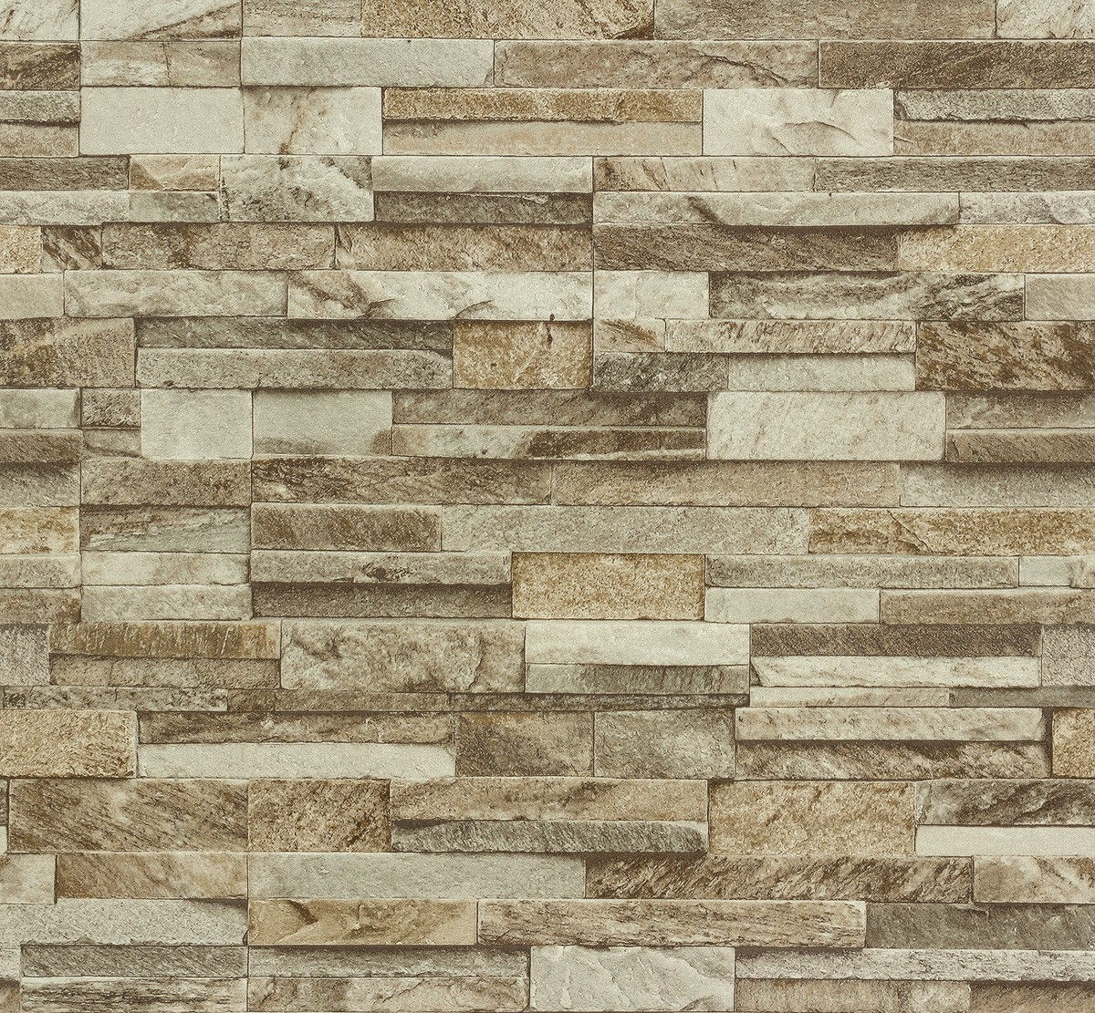 Split face 3d slate brick stone effect vinyl wallpaper for Split wall