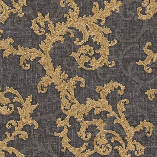 8ffe70a79e0 Versace Designer Wallpaper Black   Gold Official Greek Key Luxury ...