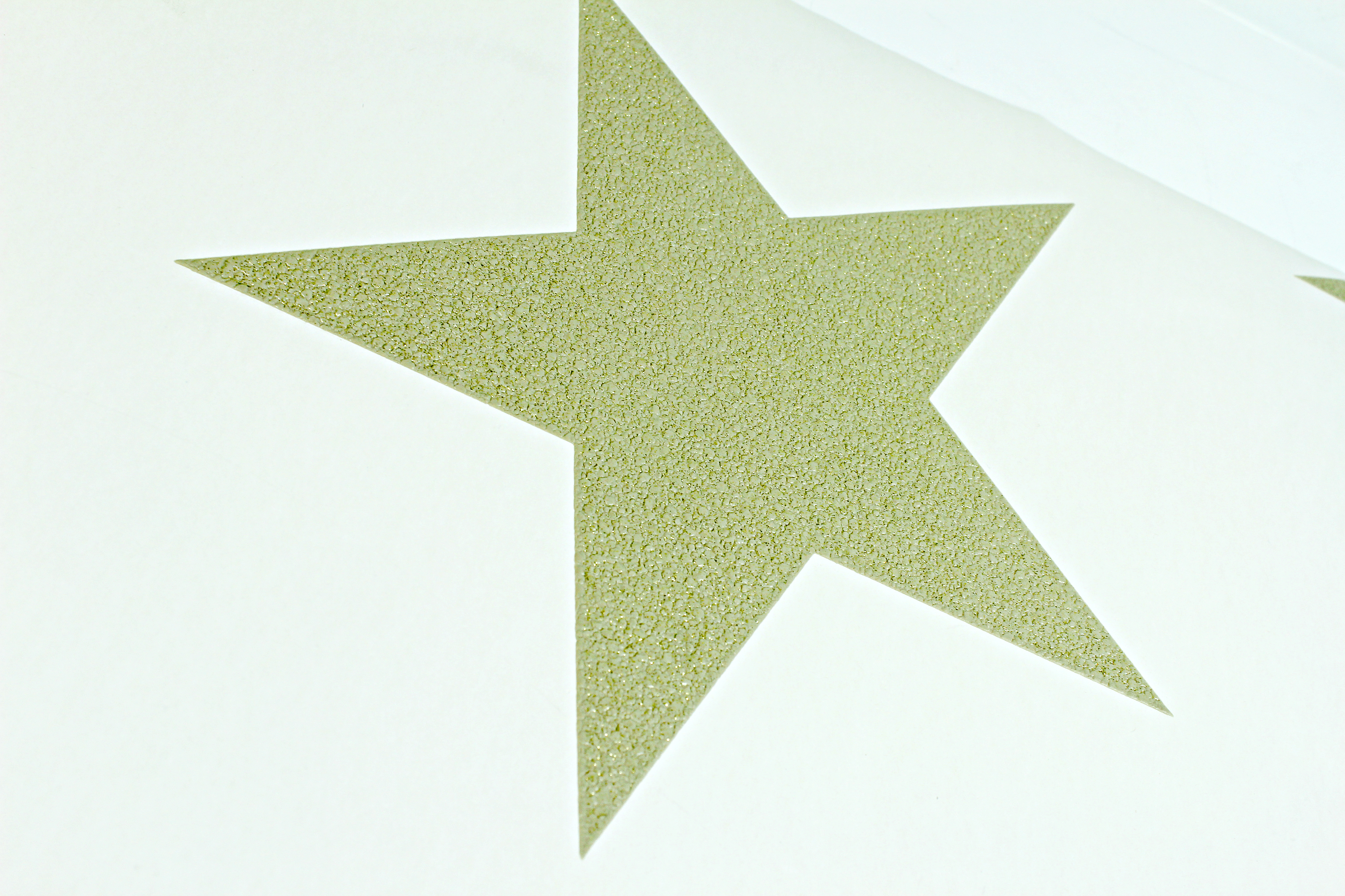 Details About Gold Star Wallpaper Cream Embossed Textured Glitter Stars Simple Luxury Arthouse