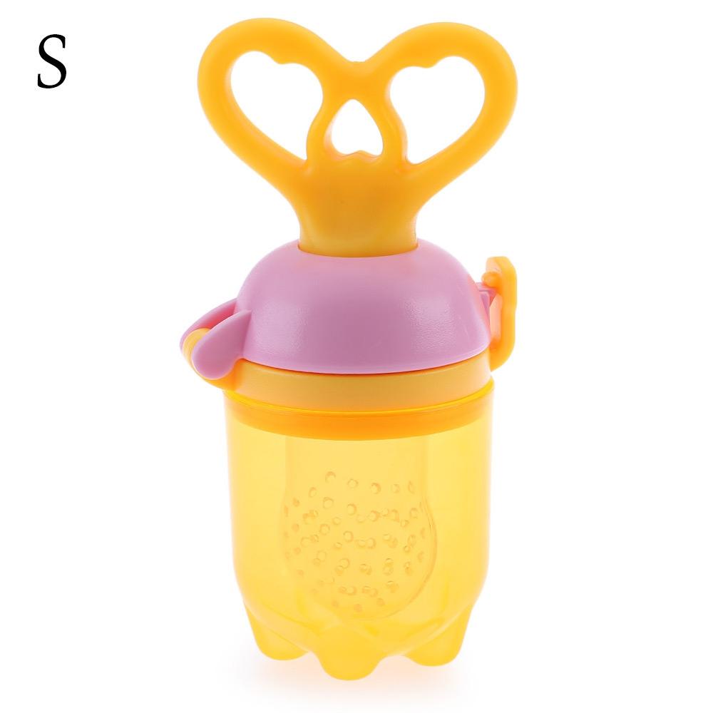 Babies Nipple Fresh Fruit Vegetable Feeder Push Type Tool