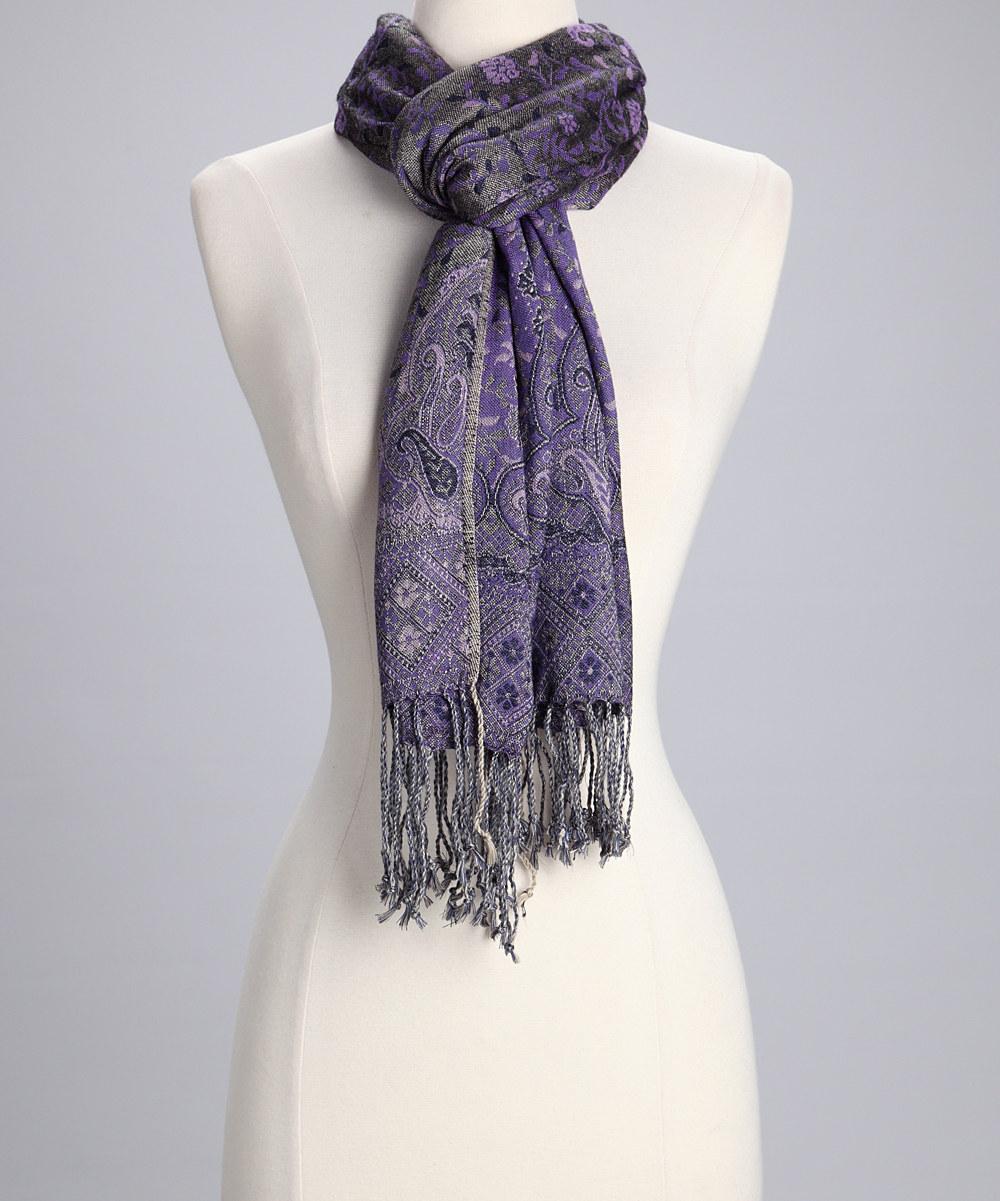 Amtal-Women-Reversible-Paisley-Brocade-Floral-Pashmina-Shawl-Scarf-w-Fringes