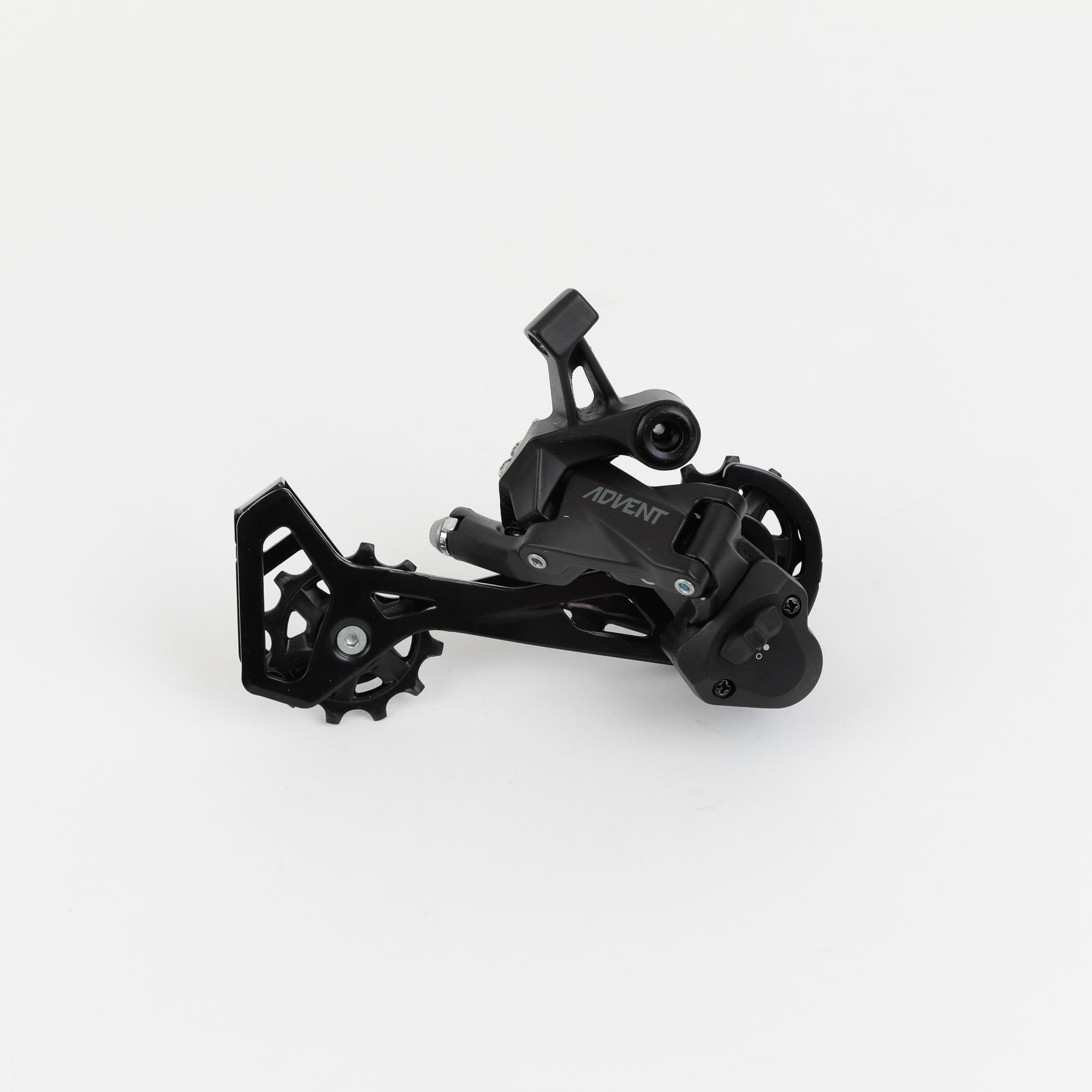microSHIFT ADVENT Rear Derailleur 9 Speed Medium Cage Black