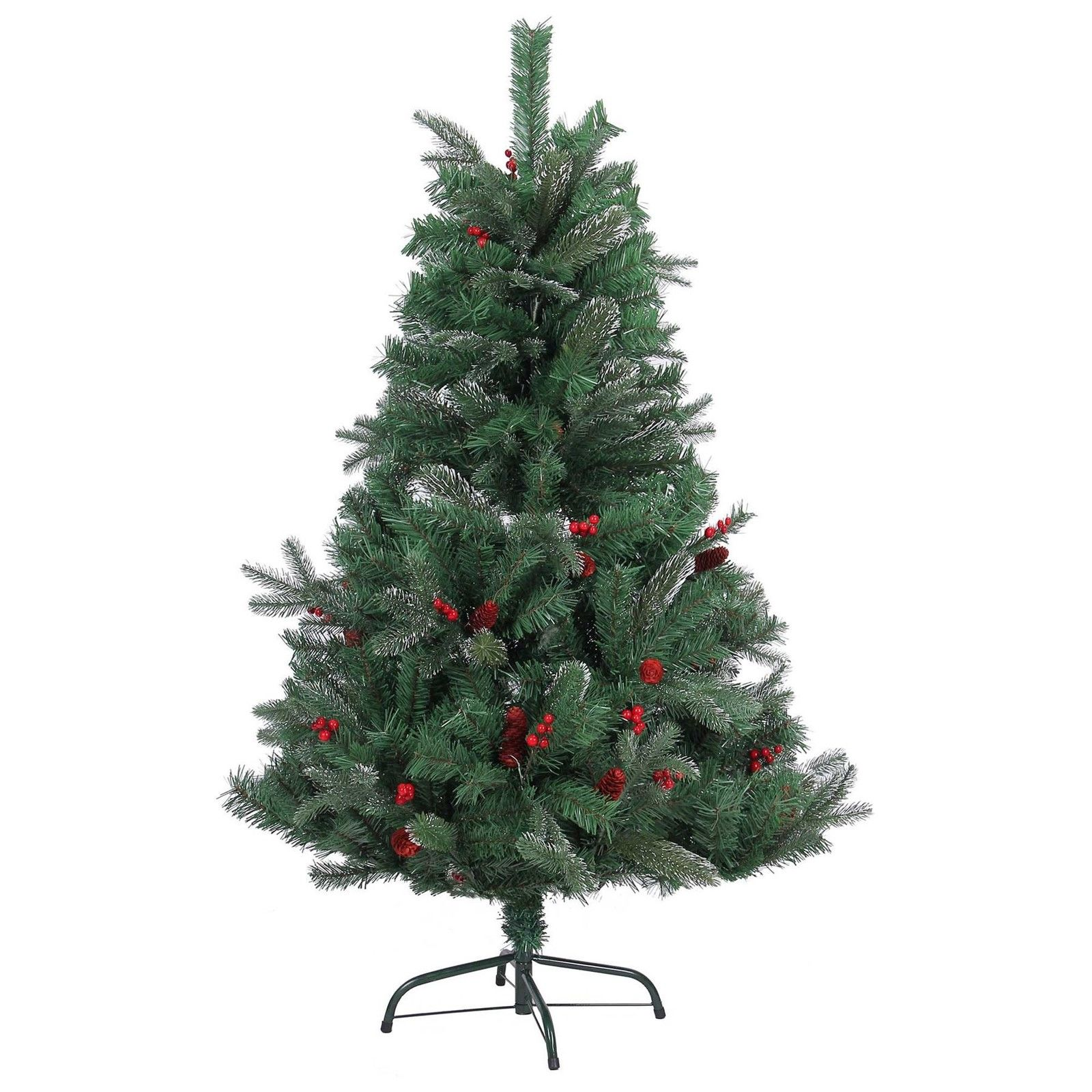 5ft christmas tree 4ft 5ft 6ft 7ft artificial christmas tree frosted tips 1447
