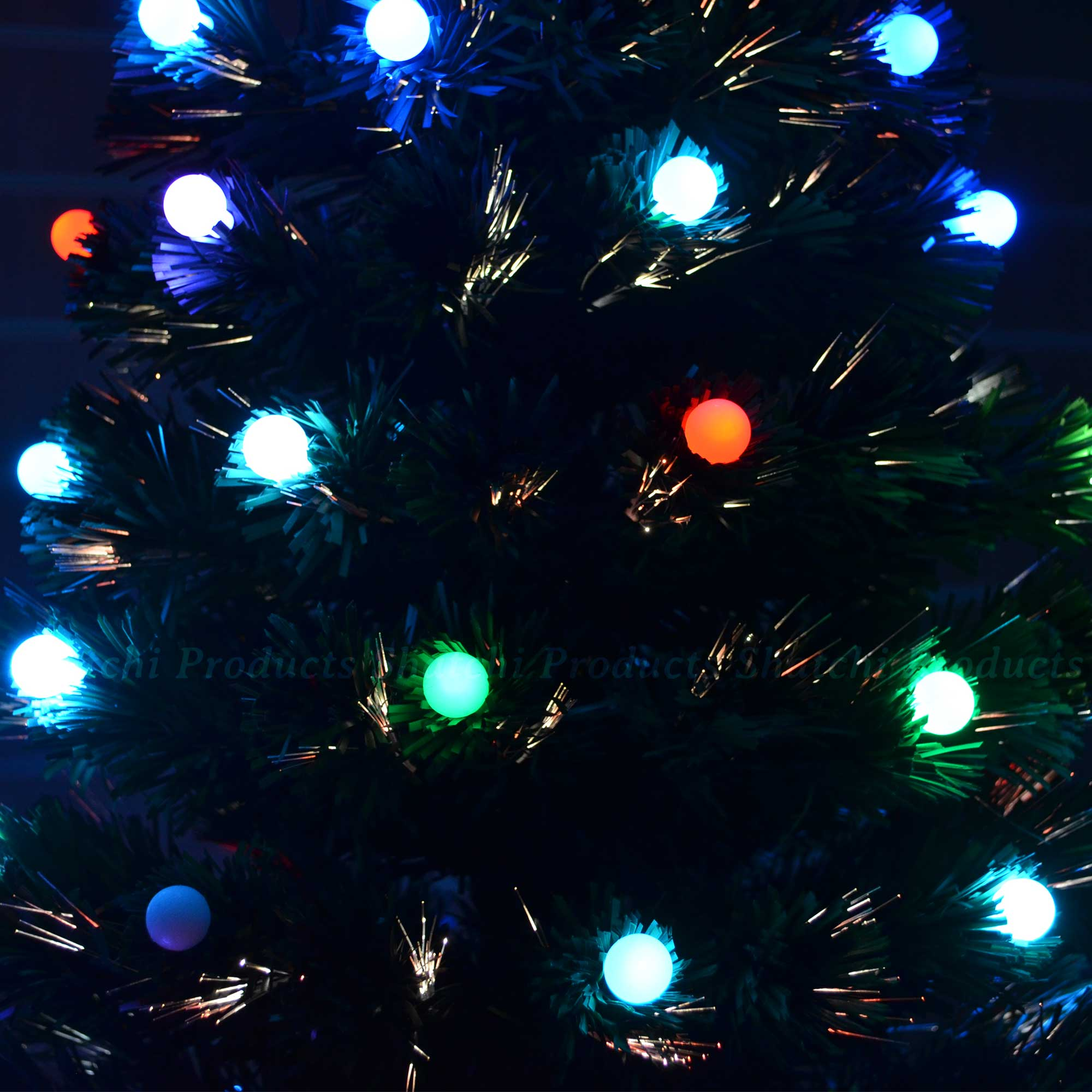 4ft Christmas Tree With Lights: 2ft, 3ft, 4ft, 5ft, 6ft Fibre Optic LED Christmas Tree Pre