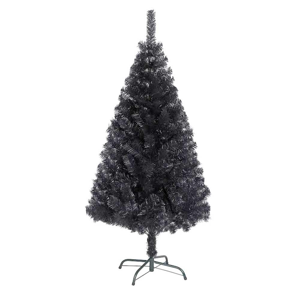 Ebay Christmas Tree: Bushy Quality Black Artificial Christmas Tree With Metal