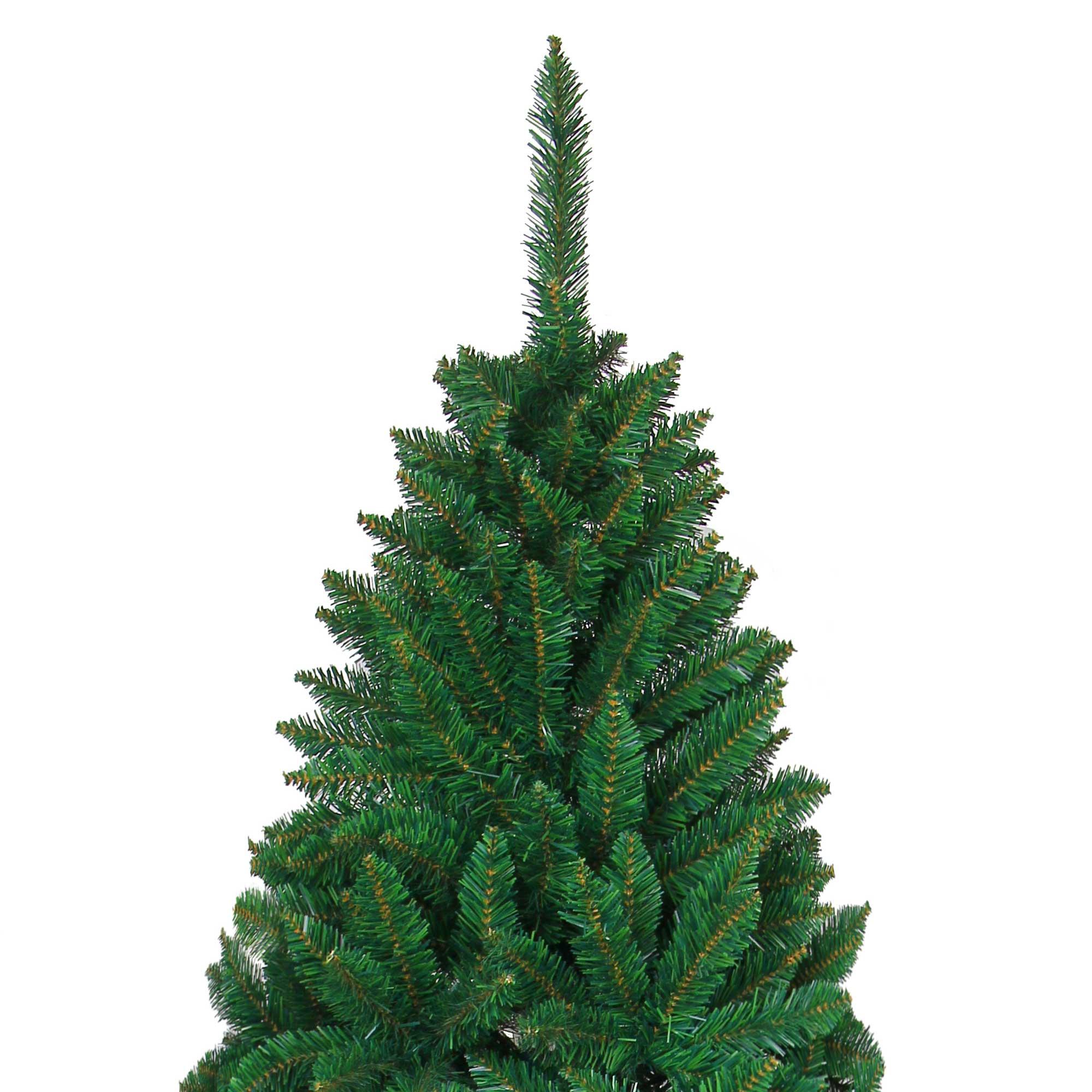 Xmas Tree: Artificial Christmas Tree Green Imperial Pine Deluxe Xmas