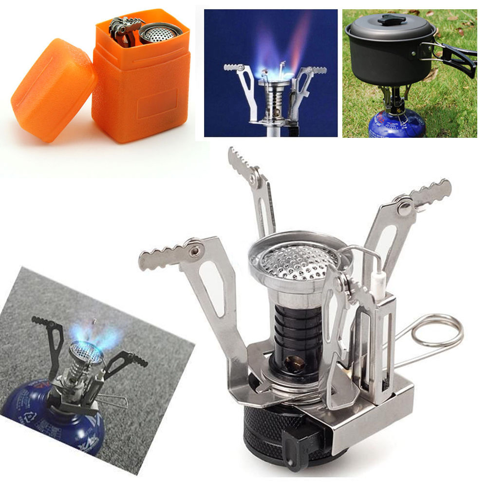 what gas is in a camping stove