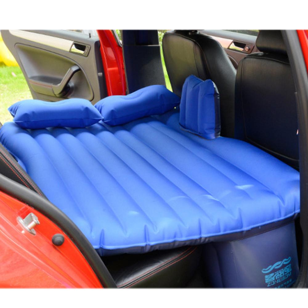 Car Cushion Air Bed Oxford Fabric Travel Inflatable