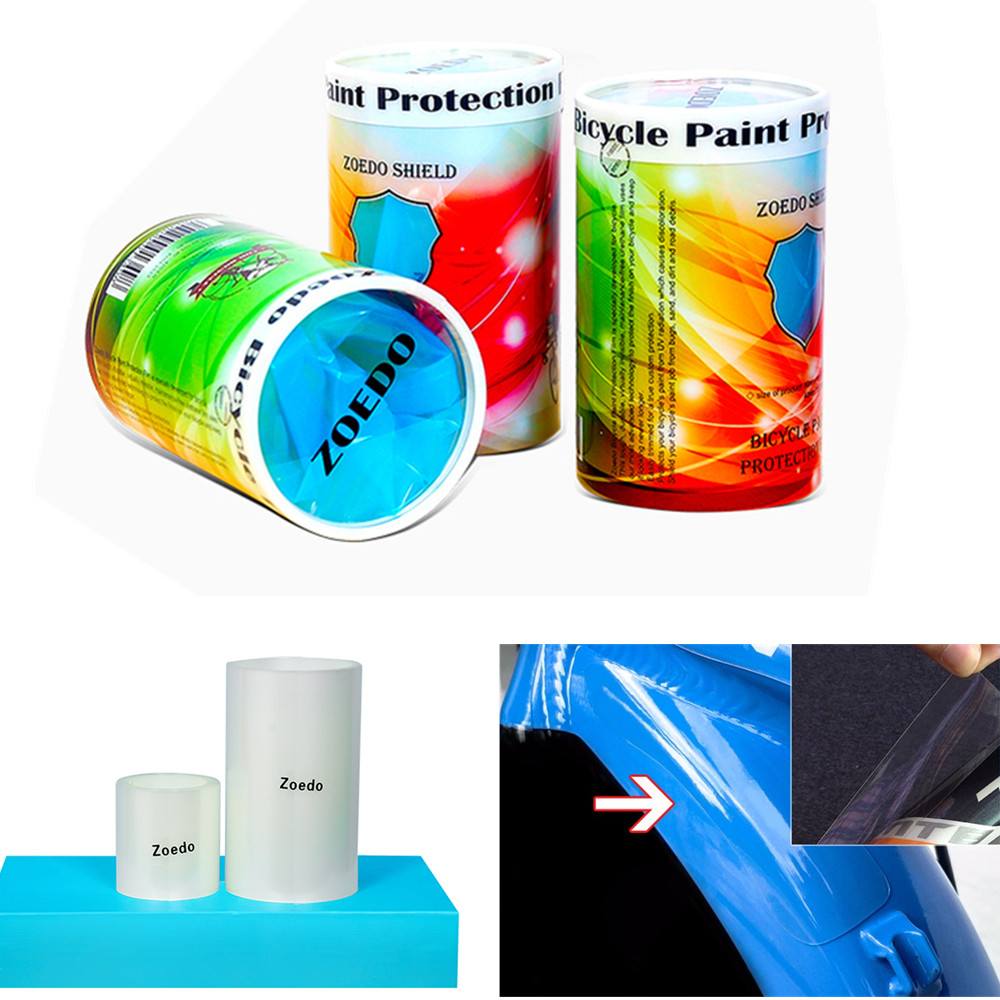 Mtb road bike frame stickers bicycle paint protection film 3m bike clearbra kit
