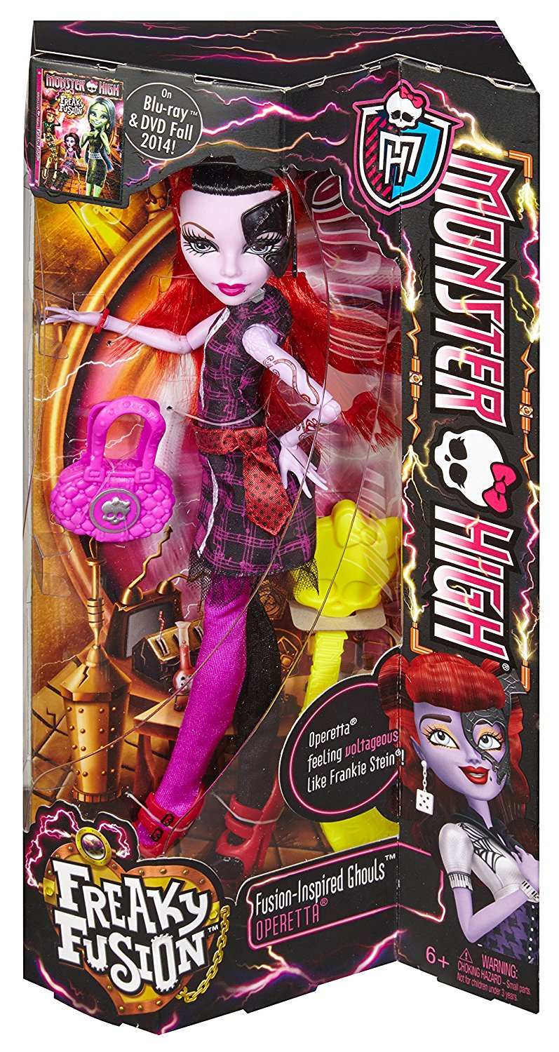 Monster High Doll Freaky Fusion Operetta Brand New Sealed