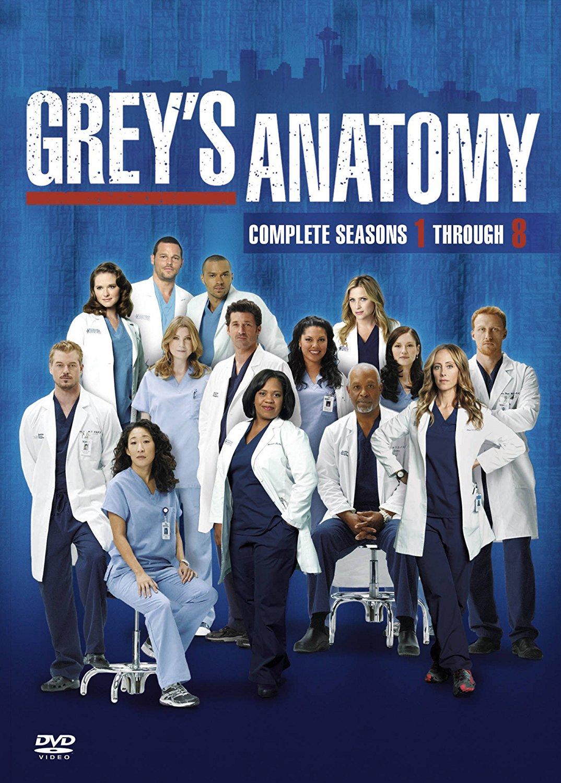 Greys Anatomy Season 1 8 Complete Dvd Brand New Sealed Uk