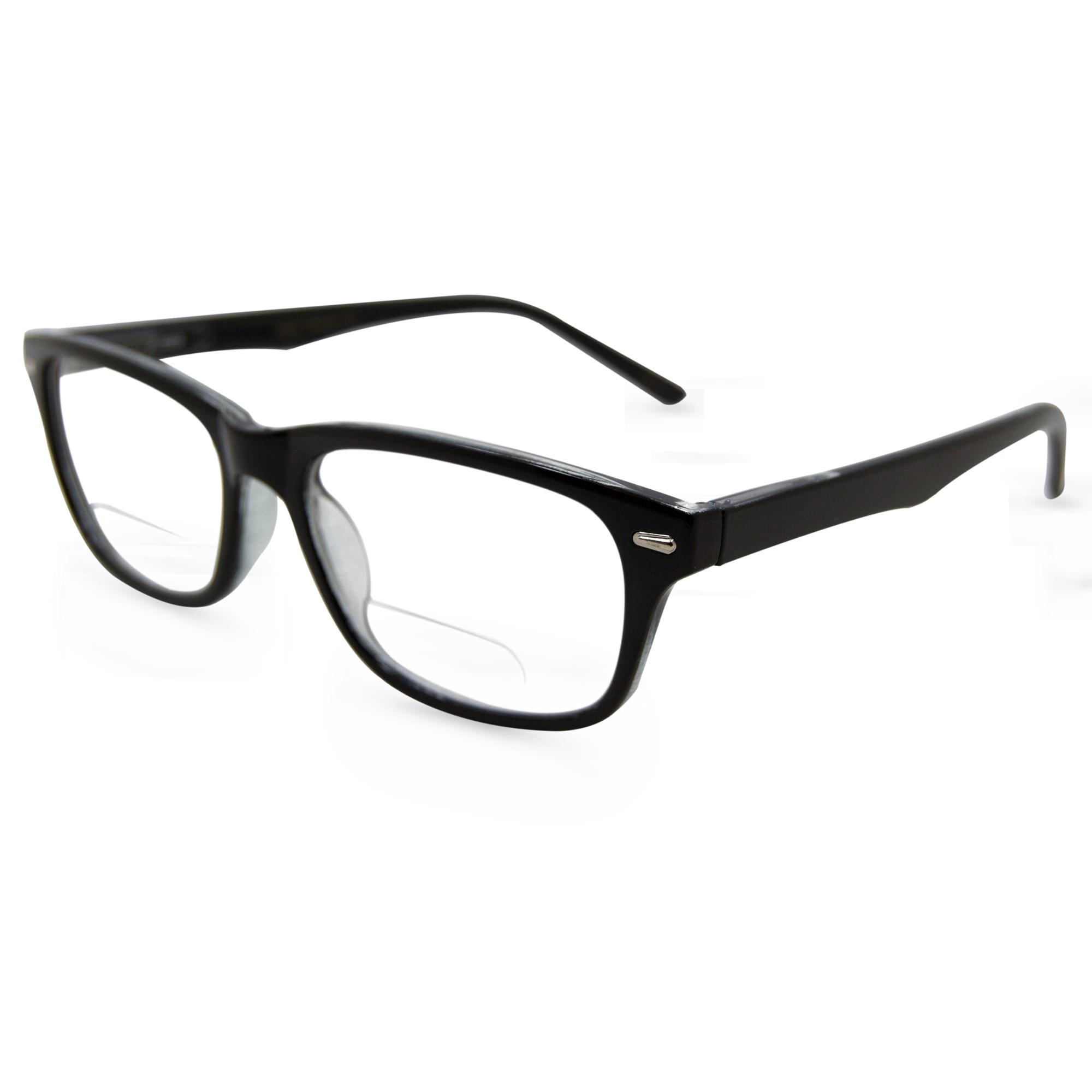 0d84e960e85 In Style Eyes Seymore Retro BiFocal Reading Glasses Black 1.50