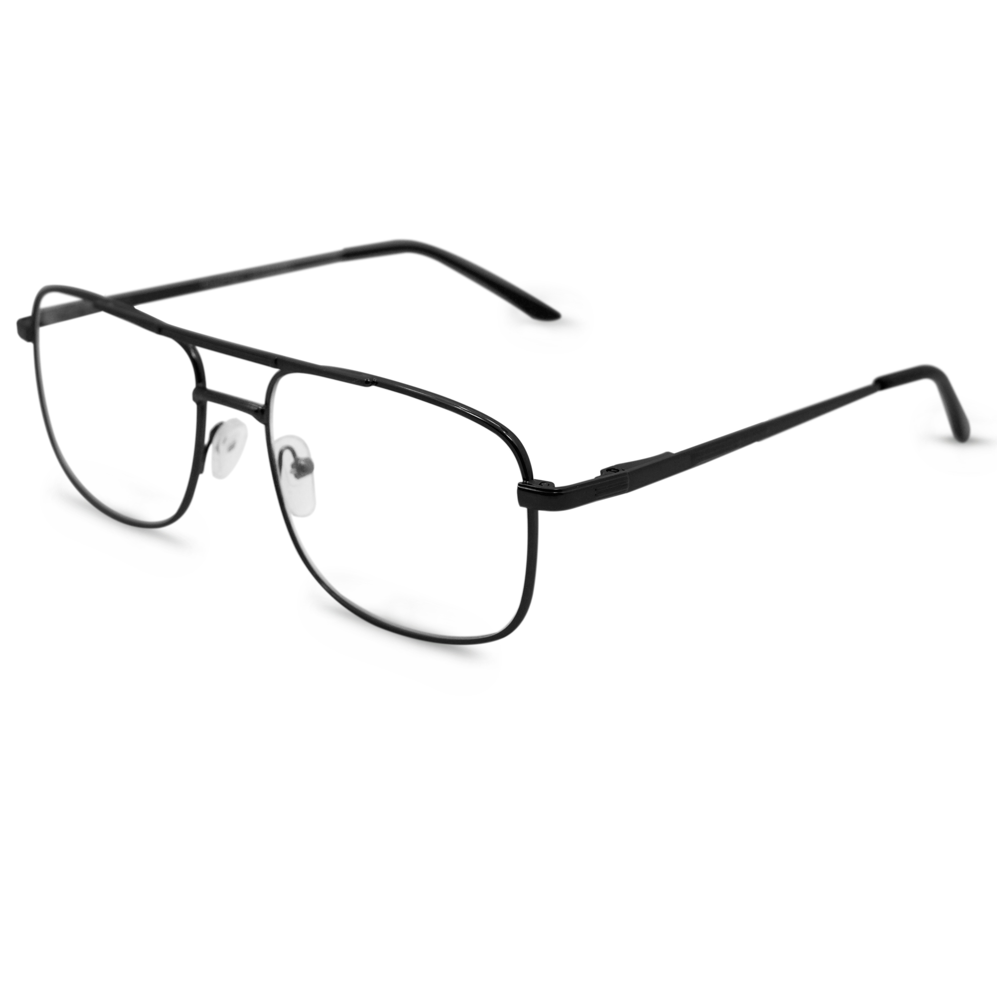 0ad7a2f32c In Style Eyes Savvy Progressive BiFocal Glasses Pewter 1.00