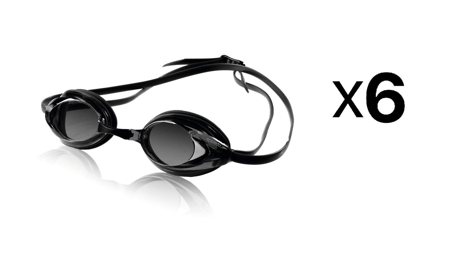 585a640bac65 Speedo Vanquisher Optical Swim Swimming Goggles Smoke Diopter -2.0 ...