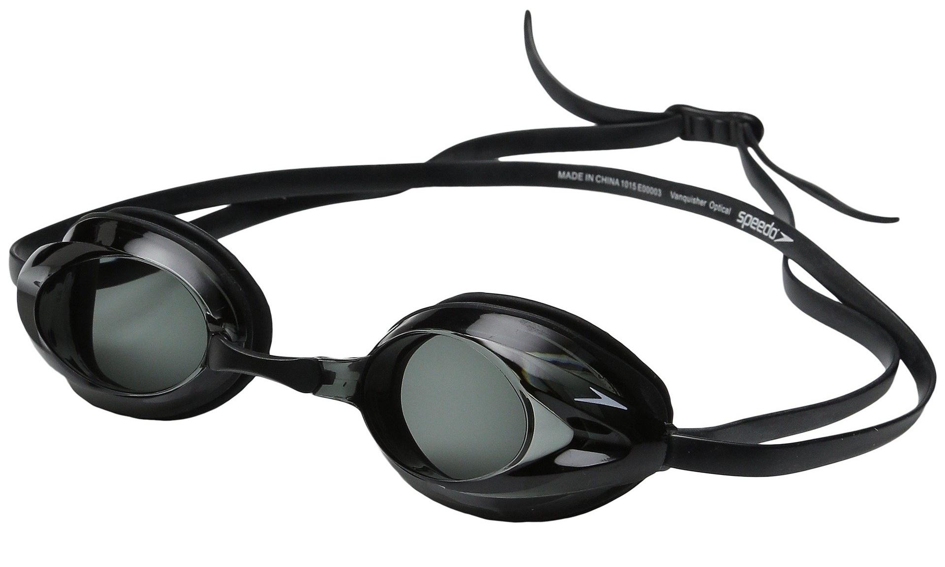 a3da767d206d Speedo Vanquisher Optical Competition Swim Swimming Goggles Smoke ...