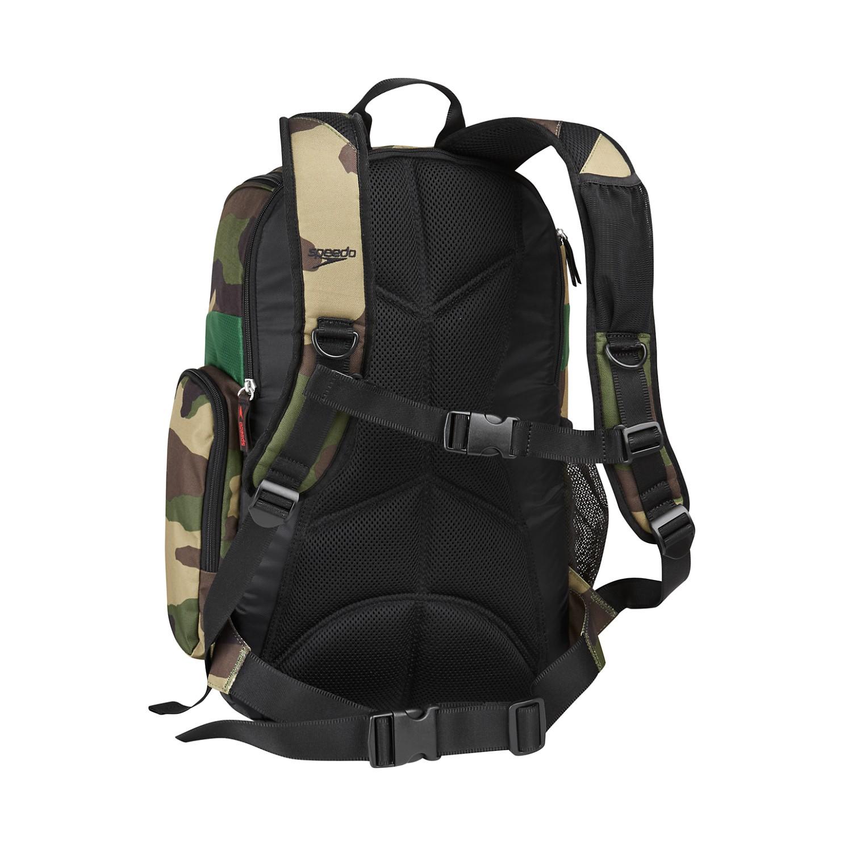Swim Gear Bag: Speedo Teamster Backpack Swim, Swimming Equipment Bag, 25L