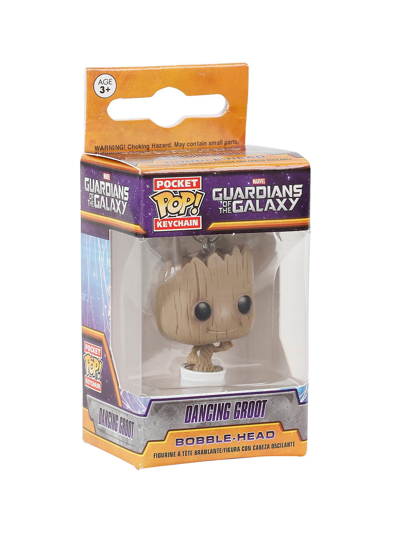 Guardians of the Galaxy Keychain NEW Funko Groot Pocket Pop