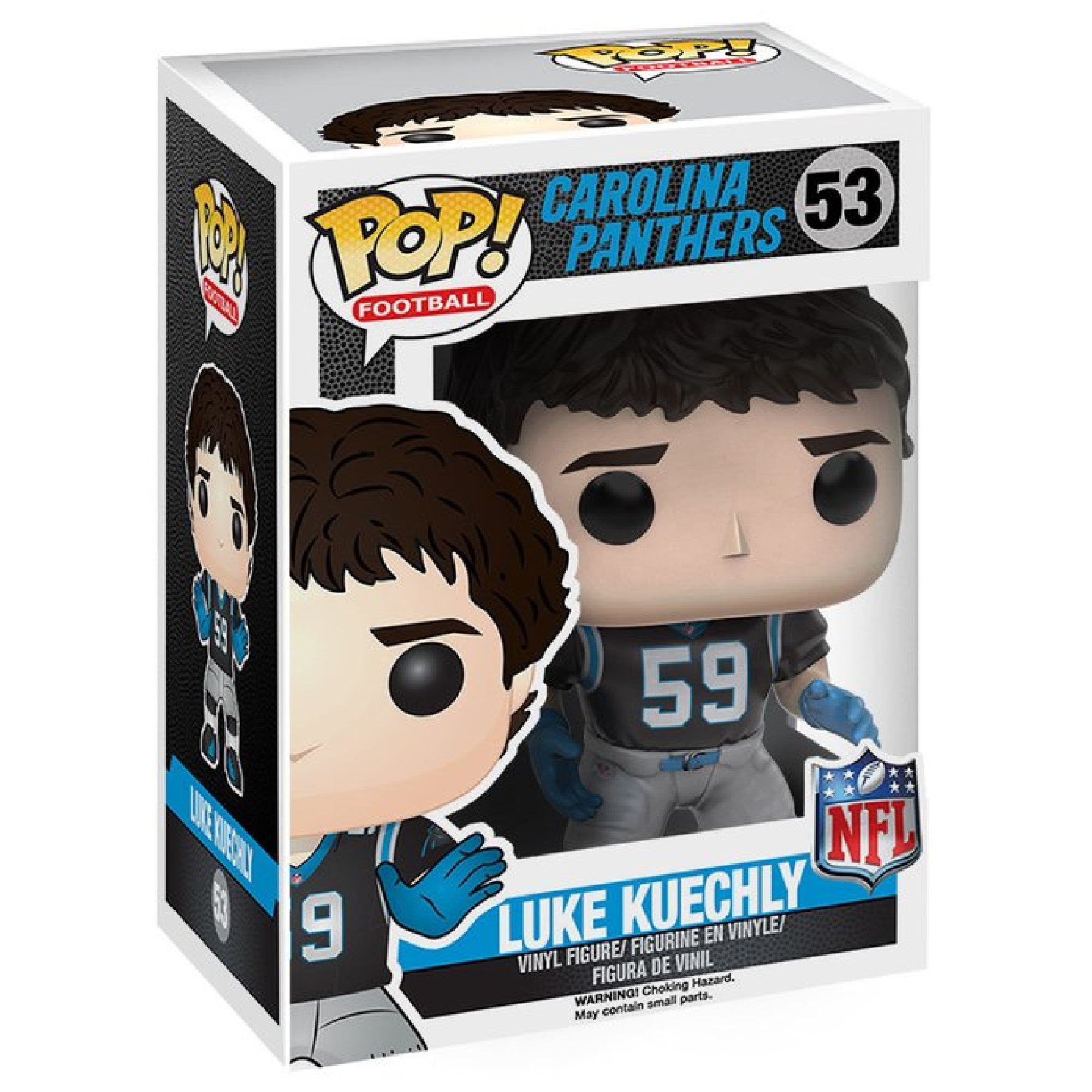 Funko Pop NFL Football Wave 3 Carolina Panthers Luke Kuechly Vinyl Action Figure eBay