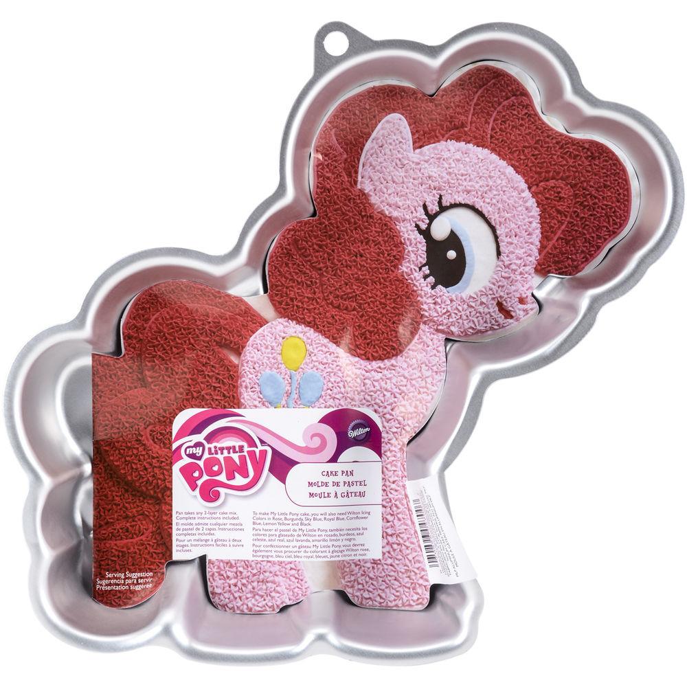 Pinkie Pie Cake Pan Instructions