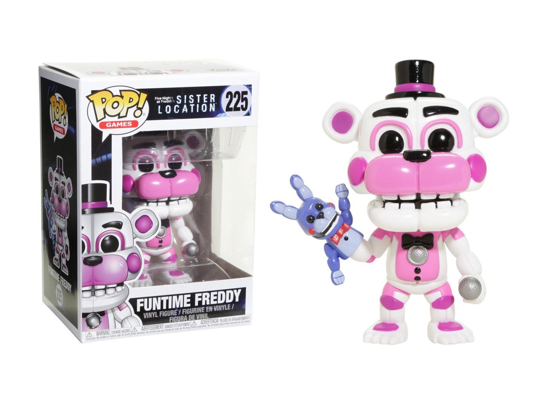 Funko 13730 Pop Vinyl Games Fnaf Sister Location Figure 3.75 In Funtime Freddy