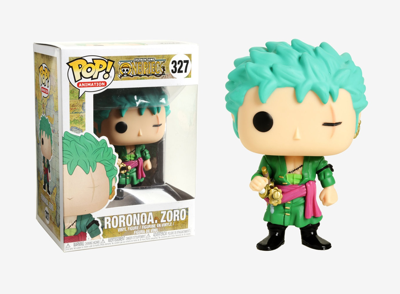 Funko Pop Animation Shonen Jump One Piece Roronoa Zoro
