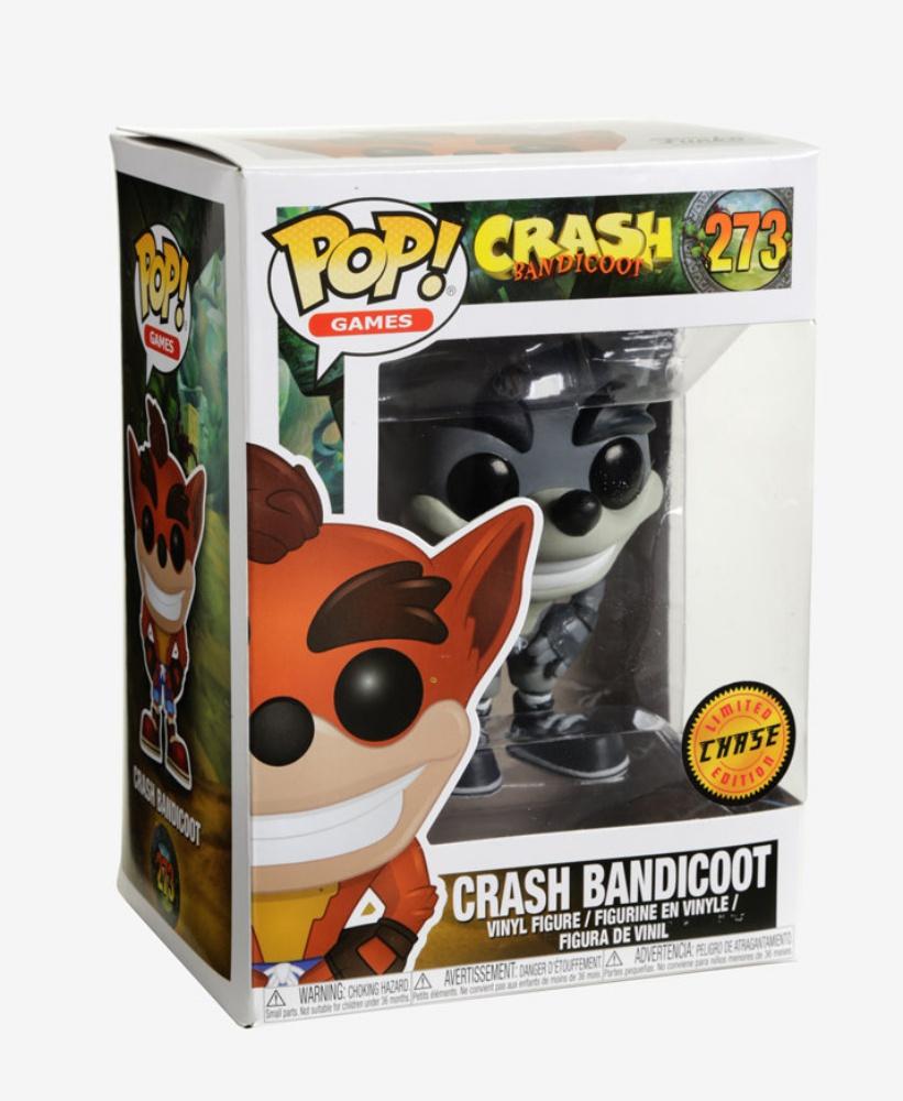 Crash Bandicoot Crash Bandicoot Vinyl Figure Item #25653 Funko Pop Games