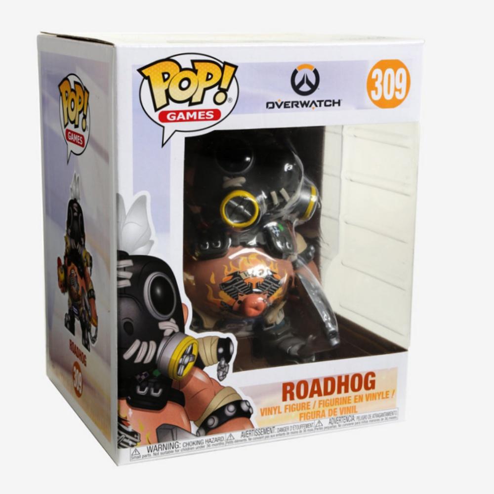 Funko Pop Games Roadhog 6 Inch Vinyl Figure Item #29046 Overwatch