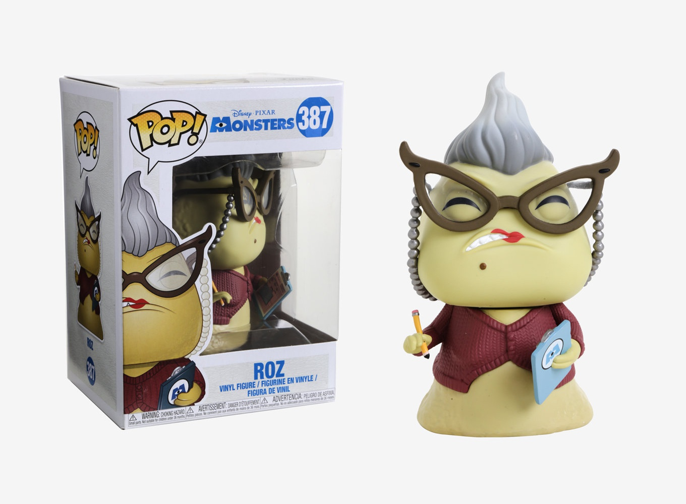 Details About Funko Pop Disney Pixar Monsters Roz Vinyl Figure Item 29393