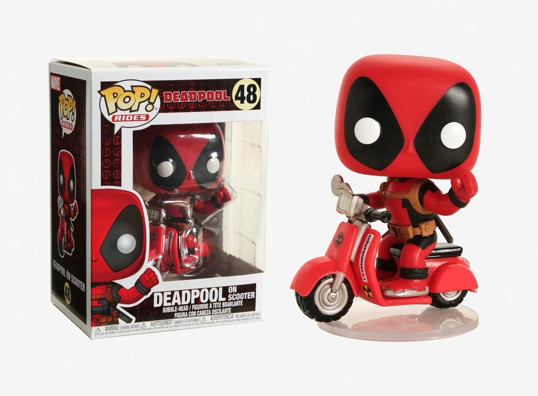Deadpool Marvel paseos Funko 30969 Pop Deadpool Figura De Colección /& Scooter