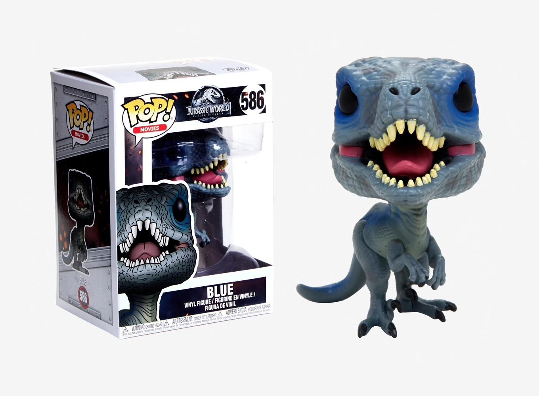Funko Jurassic World 30980 2 Nouvelles Pose Pop Vinyle Figurine Bleu 586
