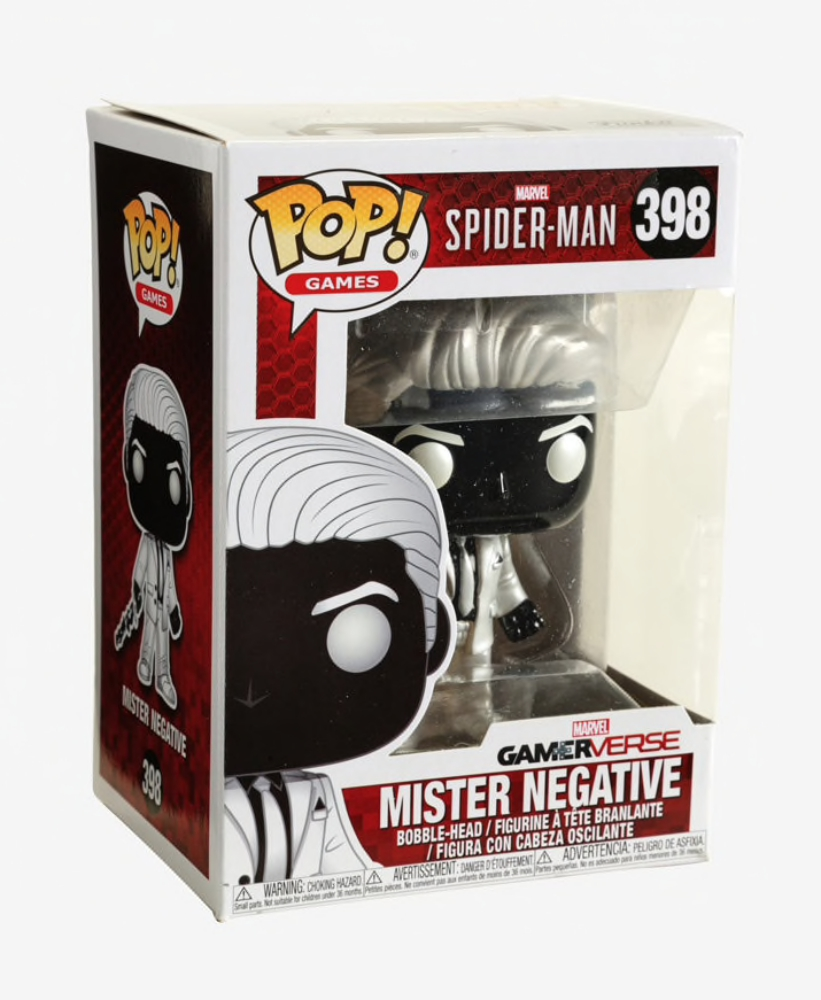 Marvel Spider-Man-Mister Negative Vinyl Bobble-Head #30679 Funko Pop Games