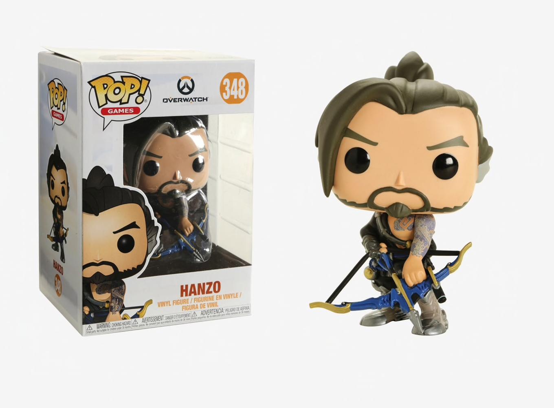 Overwatch Hanzo 348 32272 In stock Funko Pop Games