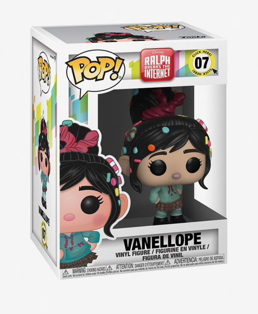 Vanellope Vinyl Figure Item #33411 Funko Pop Disney Ralph Breaks the Internet