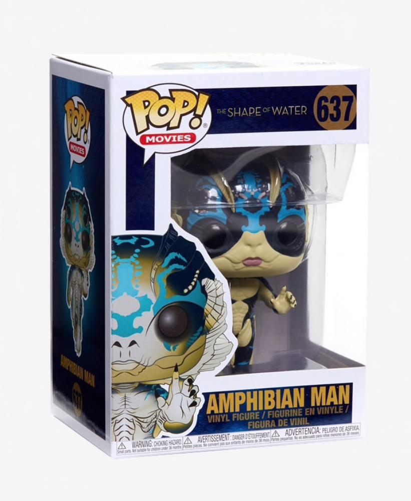 The Shape of Water Funko Pop Movies Amphibian Man Vinyl Figure Item #32485