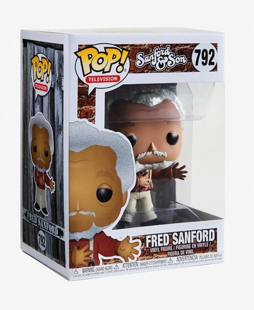 S1 Funko Pop - Fred Sanford Vinyl Figure TV: Sanford and Son