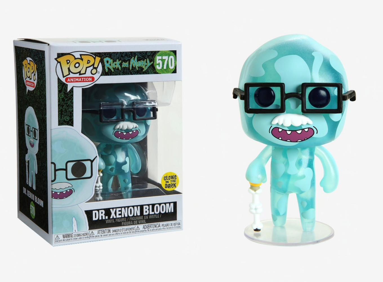 DR FUNKO POP XENON BLOOM 570 40252 VINYL IN STOCK ANIMATION: RICK /& MORTY