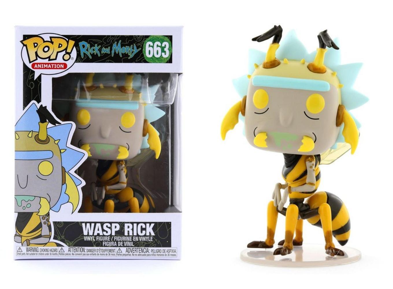 FUNKO POP Vinyl Rick and Morty WASP Rick #663 ** EN STOCK **
