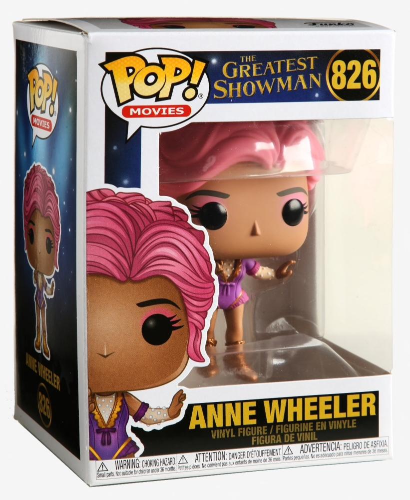 Multic Funko 44499 Pop film più grande Showman-Anne Wheeler Figura da Collezione
