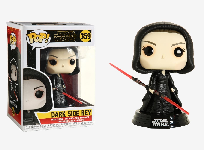 Funko POP Star Wars #359 Dark Side Rey Bobble-Head Figure