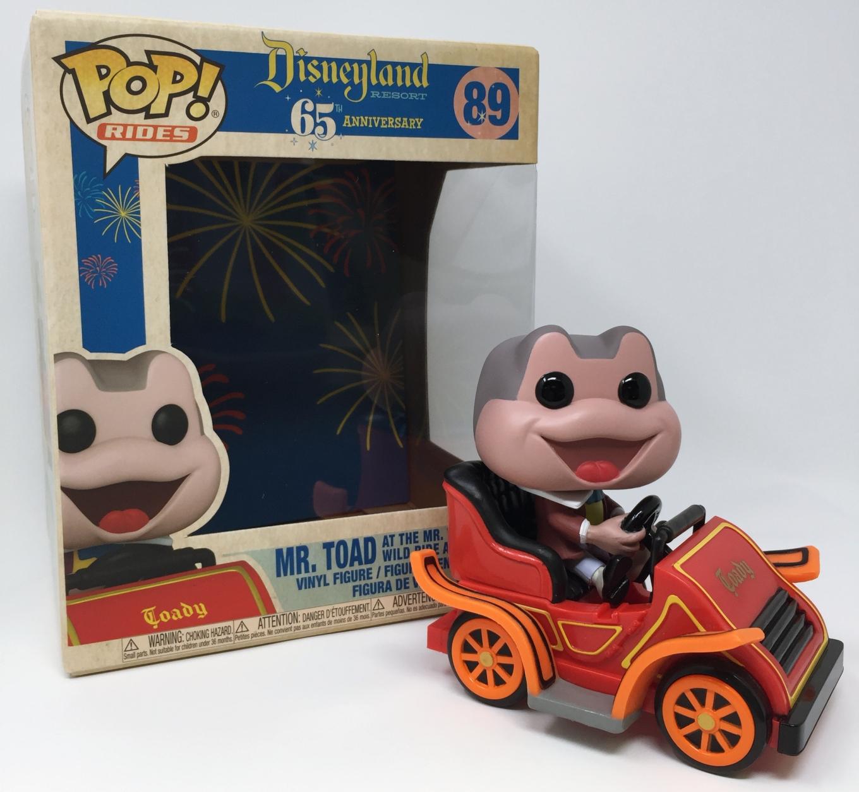 Toad in Car Mr Ride: Disney 65th Funko Pop