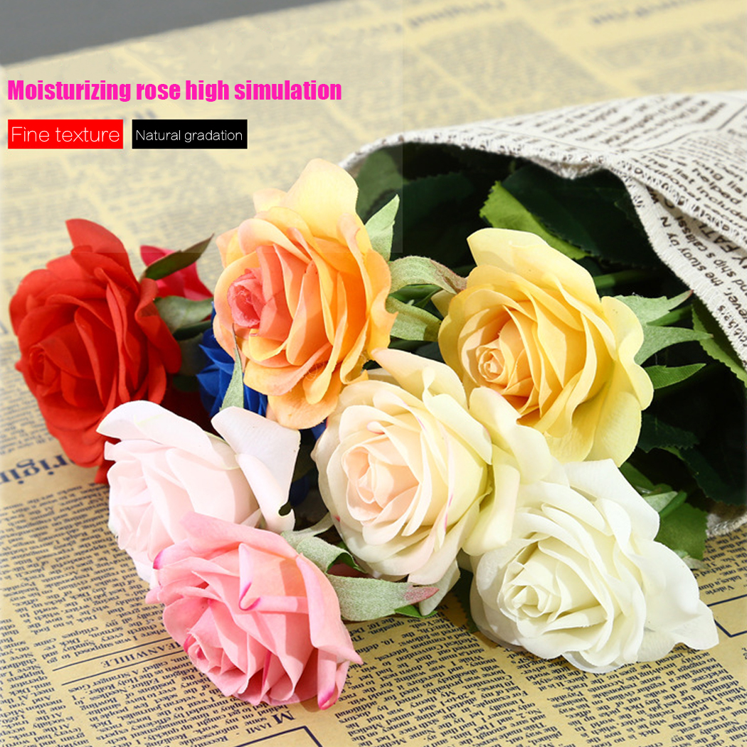 10 pack latex real touch flowers artificial rose flowers wedding 10 pack latex real touch flowers artificial rose izmirmasajfo