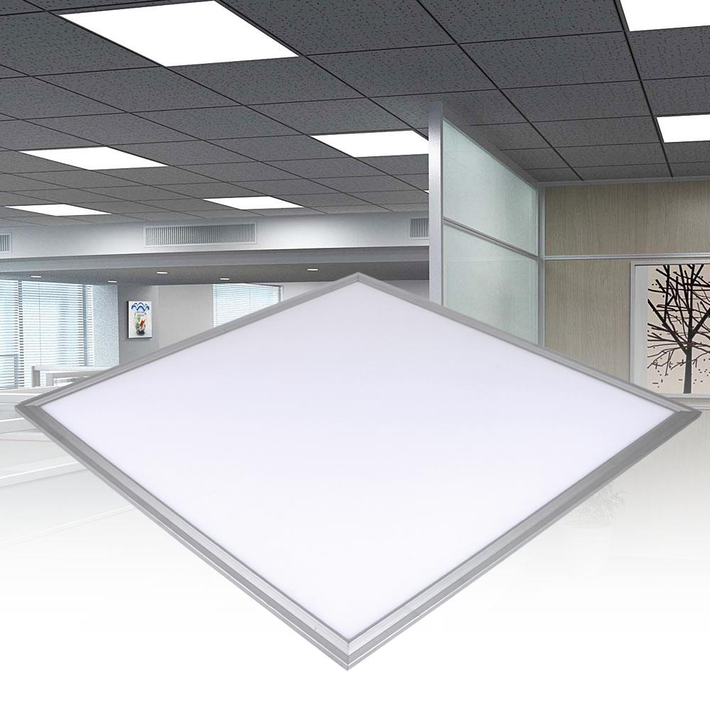 "24 X 48 Led Light Fixture: 24x24"" LED Ceiling Panel Light Recessed Flat Panel Down"