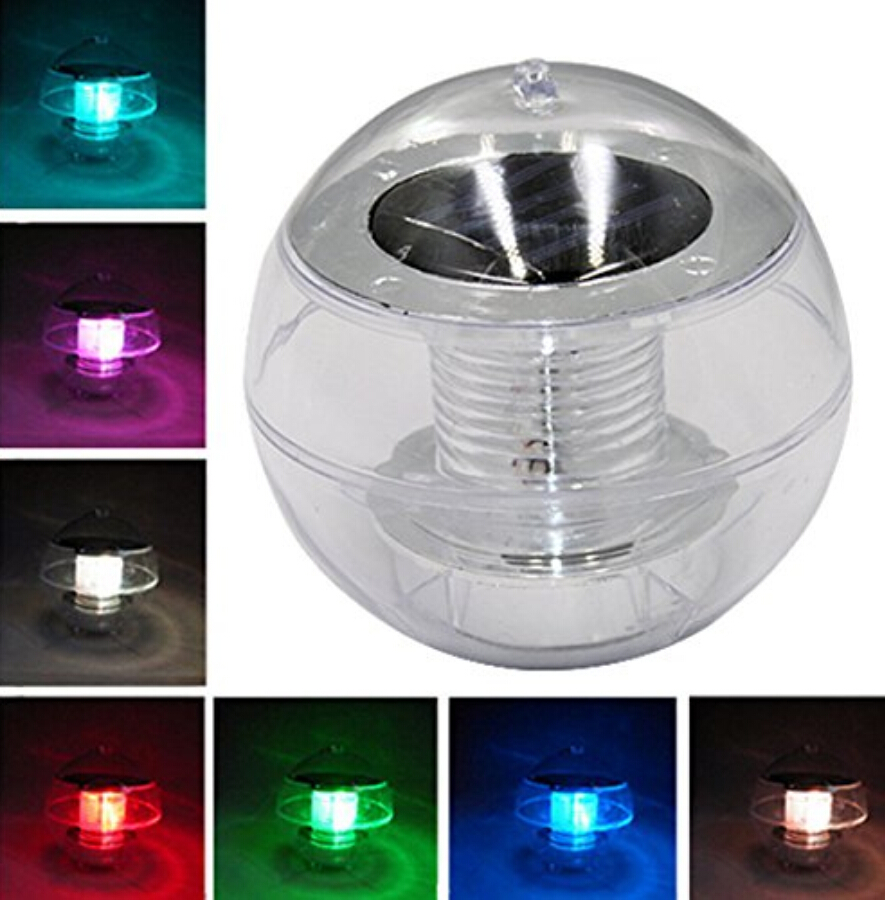 Solar Led Light Lamp Color Changing Swimming Pool Floating Ball Fountain Garden Ebay